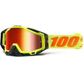 100% Racecraft Anti Fog Mirror Masque, attack yellow